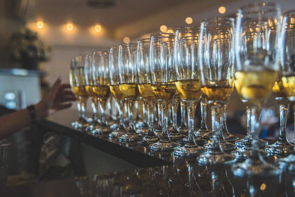 Øl og vin i Præstens Selskabslokaler